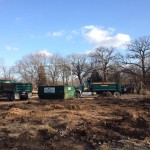 demolition project forest preserve