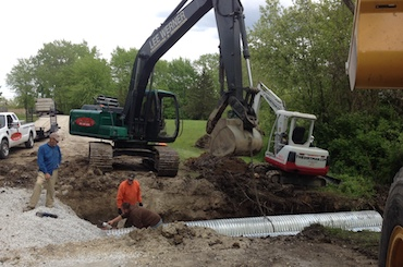 Excavation will county illinois