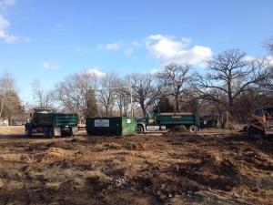 demolition project forest preserve